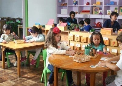 Niños nivel Casa de Niños