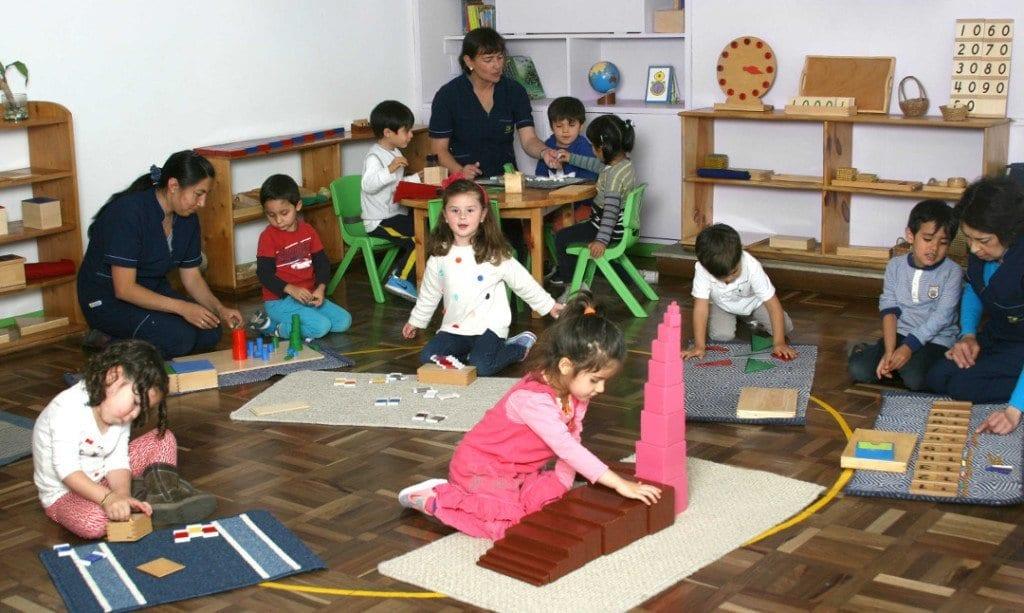 Ambiente Casa de Niños Beethoven jardín Mundo Montessori Bogota