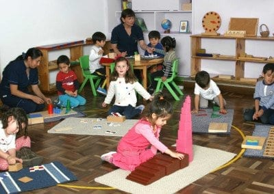 Ambiente Casa de Niños Beethoven Mundo Montessori Bogota