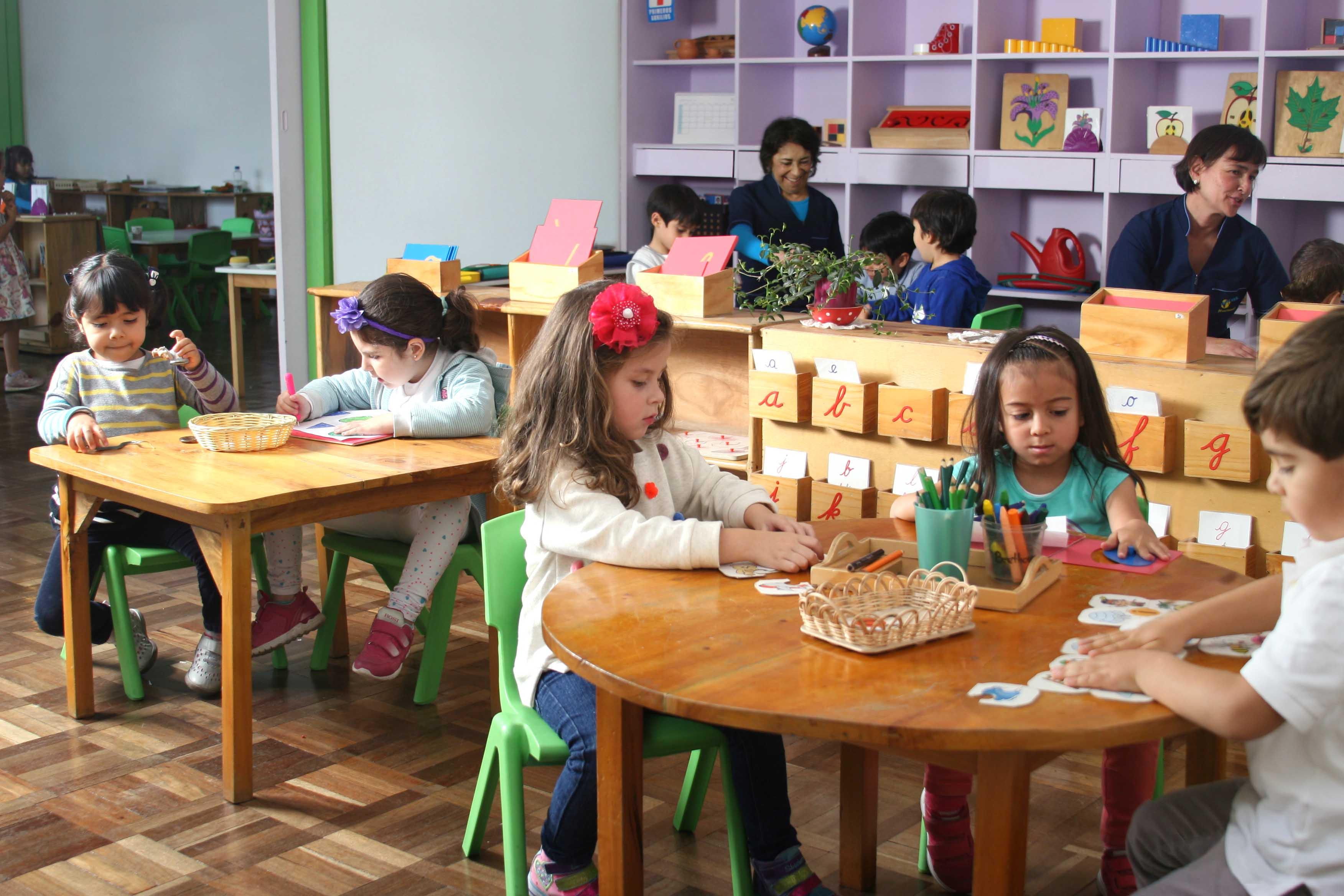 Niños nivel Casa de Niños - Jardín infantil Mundo Montessori Bogotá
